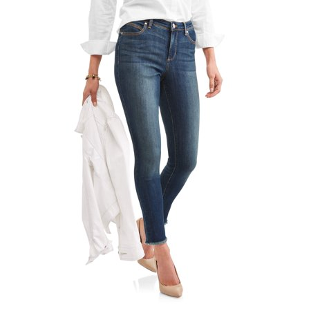 Women's Lisbeth Frayed Hem Jeans
