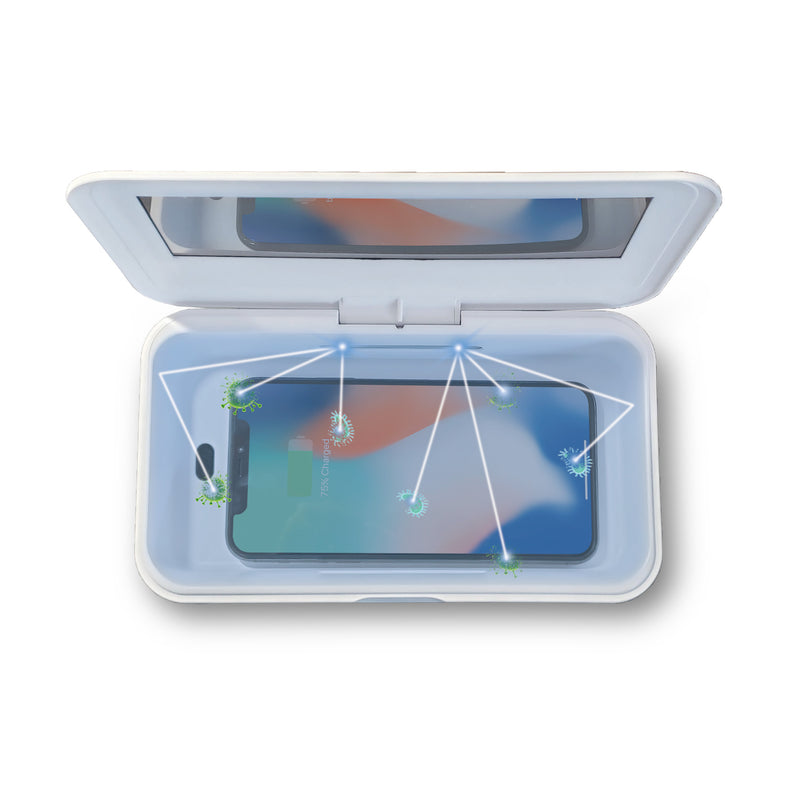 CleanTray™ Charger & UV Light Sterilizer