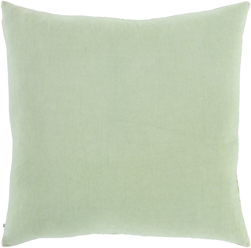 Surya Accra Throw Pillow in Mint