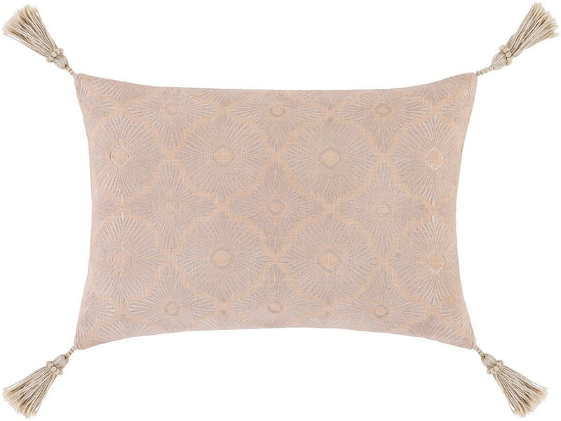 Surya Accra Throw Pillow in Khaki
