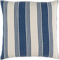 Surya Anchor Bay Throw Pillow in Navy