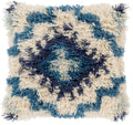Surya Santiago Throw Pillow in Denim