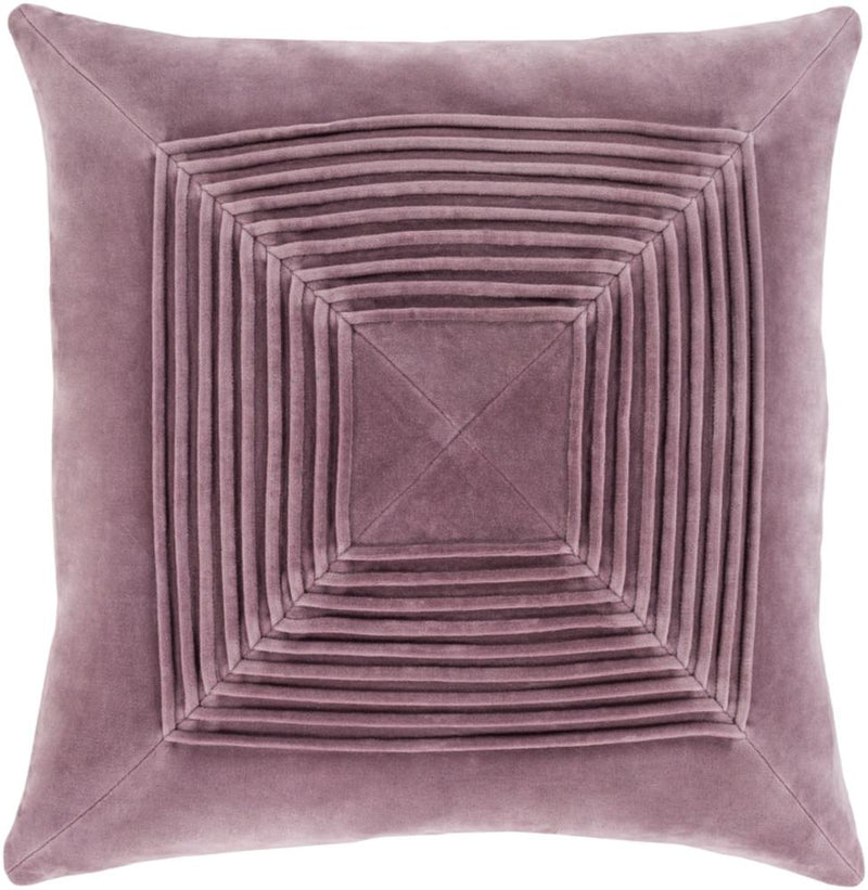 Surya Akira Throw Pillow in Ice Blue