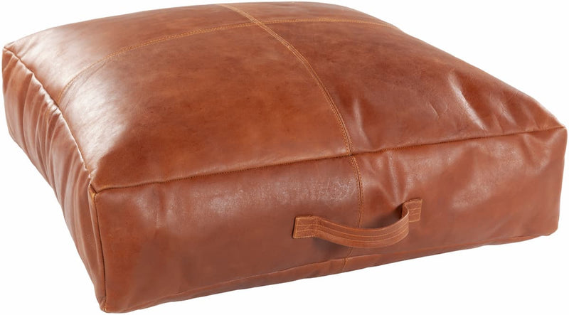 Barrington Leather Throw Pillow