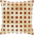 Surya Beaumont Throw Pillow in Beige