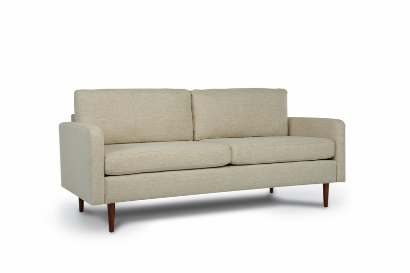 Bundle Sofa in Sand Beige with 2 X 2 Cushion Arrangement and Straight arms