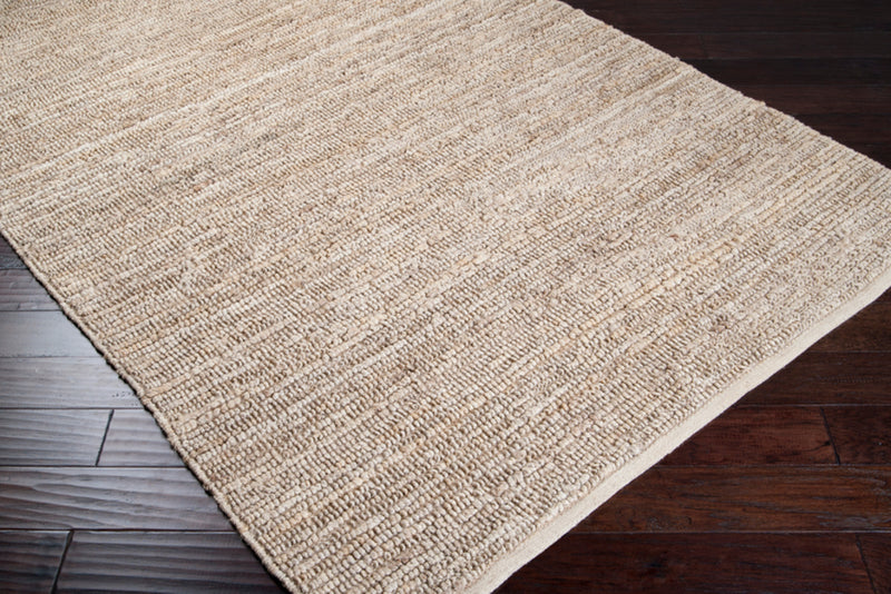 Continental Area Rug by Surya in Cream