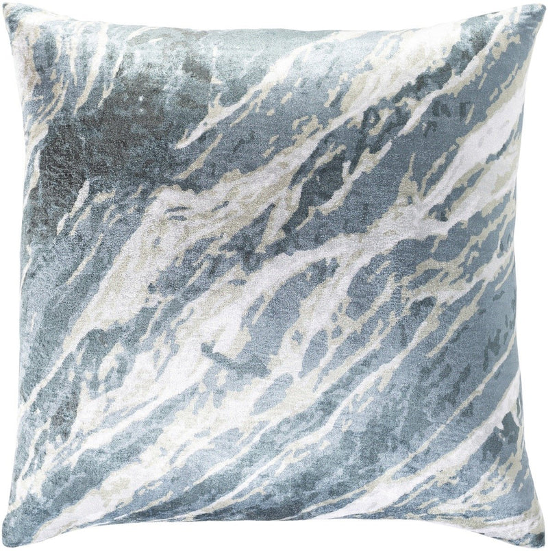Surya Callisto Throw Pillow in Dark Green