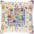 Surya Coventry Throw Pillow in Bright Yellow