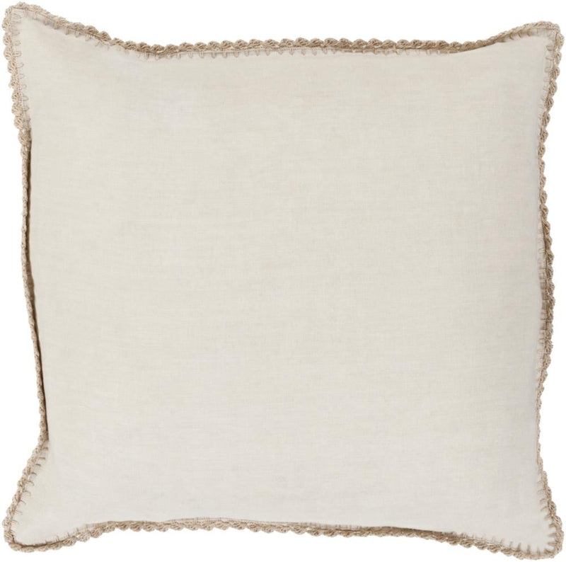 Surya Elsa Throw Pillow in Khaki