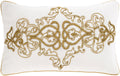 Surya Envie Throw Pillow in Ivory