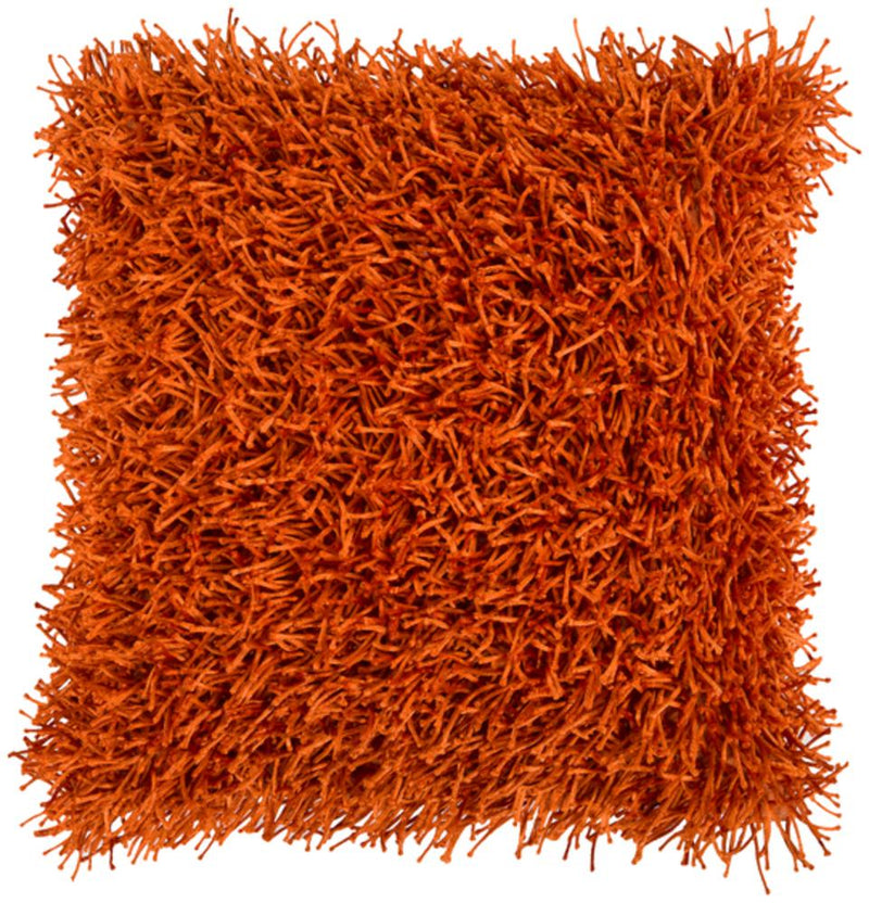 Surya Nitro Throw Pillow in Burnt Orange
