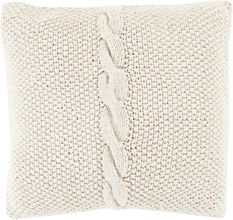 Surya Genevieve Throw Pillow in Ivory