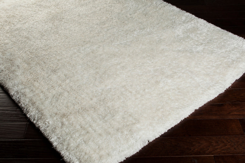 Grizzly Area Rug by Surya in White