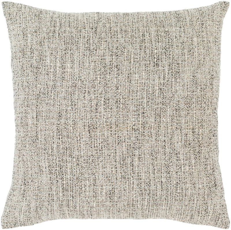 Surya Heidi Throw Pillow in Charcoal