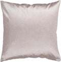 Surya Solid Luxe Throw Pillow in # color_Taupe