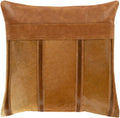 Surya Knox Throw Pillow in Camel
