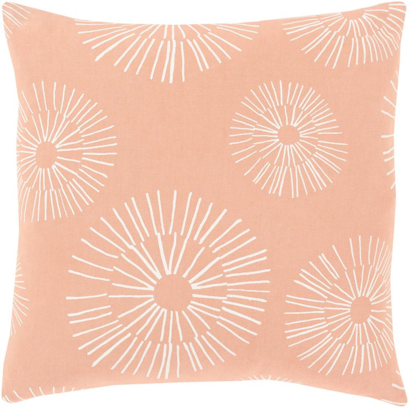 Surya Lachen Throw Pillow in Navy
