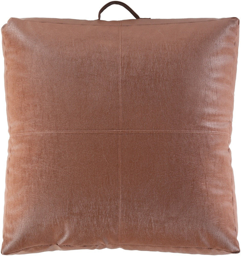 Surya Mack Throw Pillow in Camel