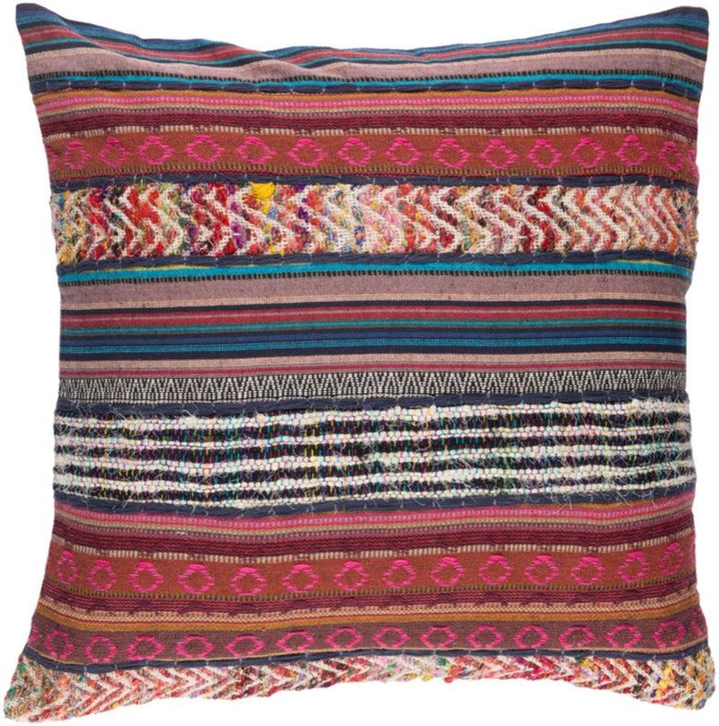Surya Marrakech Throw Pillow in Clay