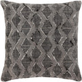 Surya Peya Throw Pillow in Black