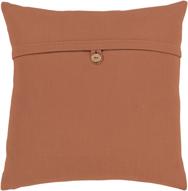 Surya Penelope Throw Pillow in Camel