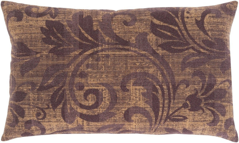 Surya Porcha Throw Pillow in Khaki