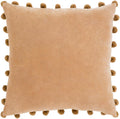 Surya Serengeti Throw Pillow in Camel