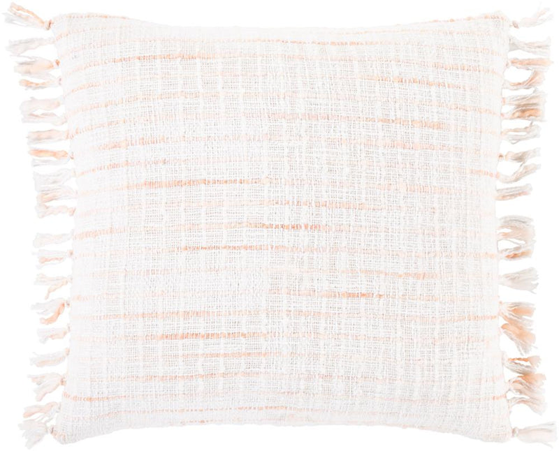 Surya Saugatuck Throw Pillow in White