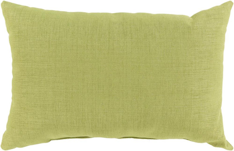 Surya Storm Outdoor Throw Pillow in Grass Green