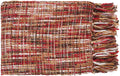 Tabitha Throw Blanket in # color_Bright Red