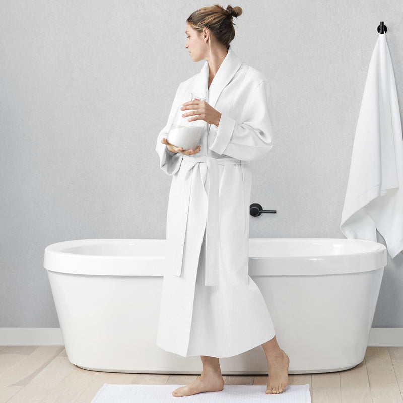 Essential Cotton Waffle Robe