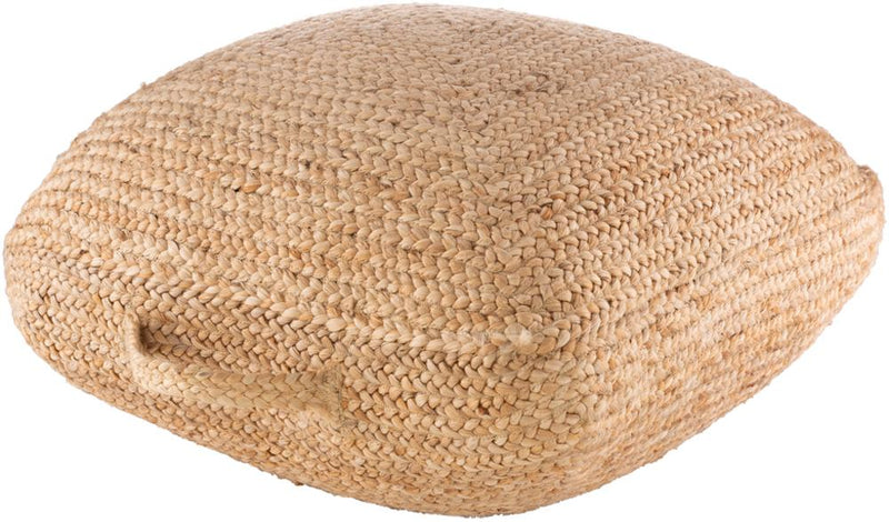 Surya Ziya Floor Pillow in Khaki