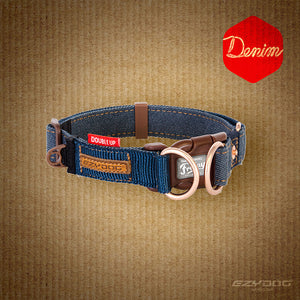 Double Up Collar - Denim