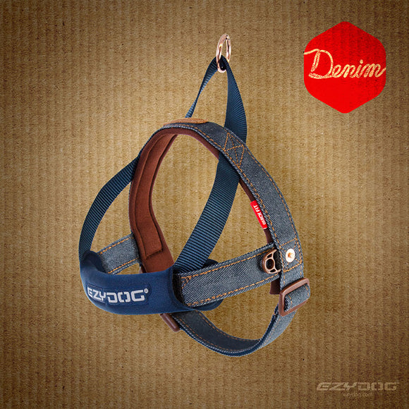 Quick Fit Harness - Denim
