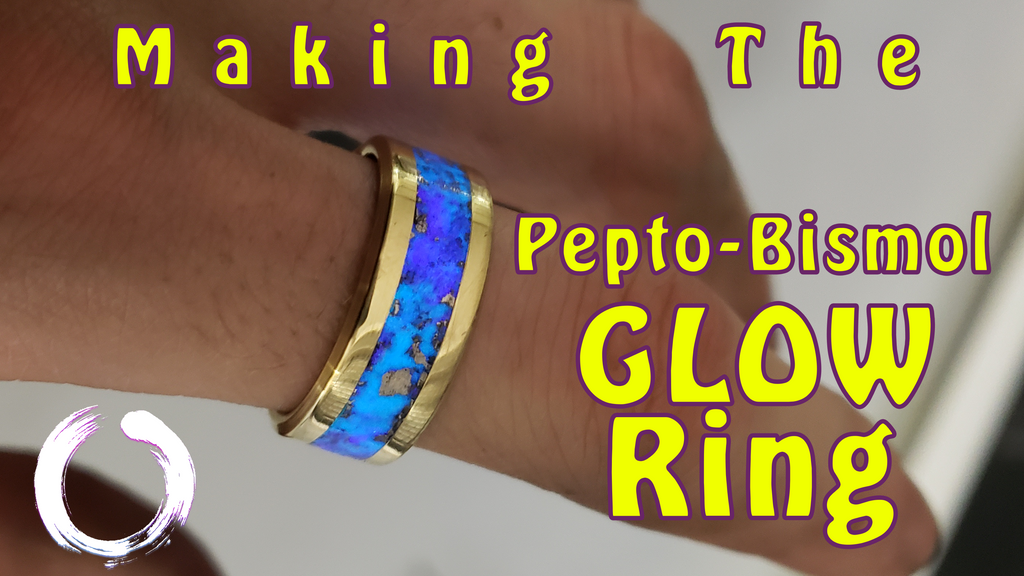 I made a ring out of Pepto-Bismol!