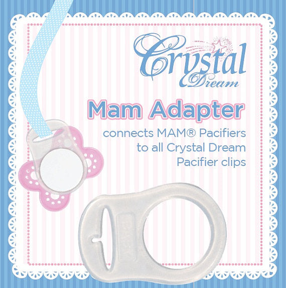 MAM ADAPTER FOR ALL CRYSTAL DREAM PACIFIER CLIPS
