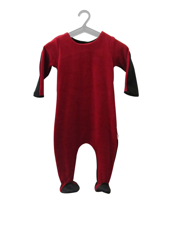 SHARP_STRETCHIE_RUBY_SLATE_BLACK_FOOTIES_CITRINE_KALEIDO_KIDS_SOFT_VELOUR