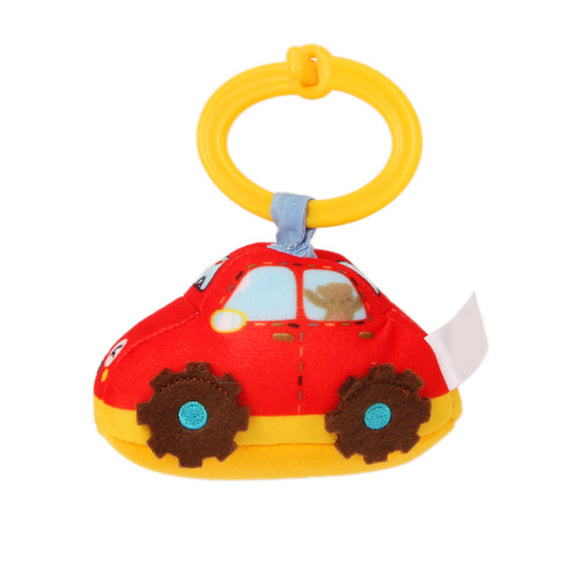 PLUSH BABY VEHICLE VIBRATING TOY