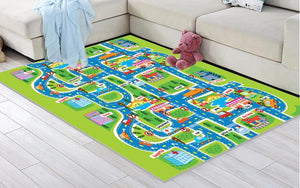 Children's City Play Mat - SpoiledBabys