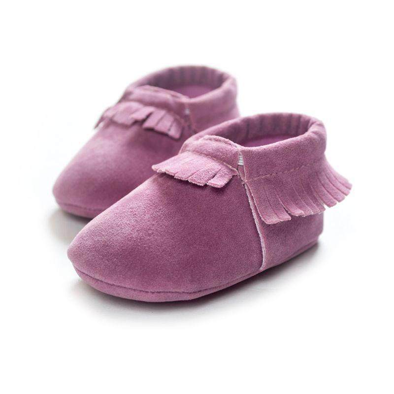 Soft Suede Leather Shoes - SpoiledBabys