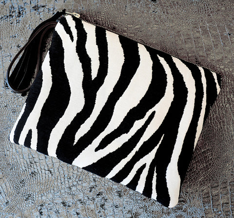 Clutch Bag ZEBRA