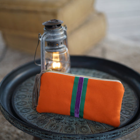 Clutch Bag klein ORANGE