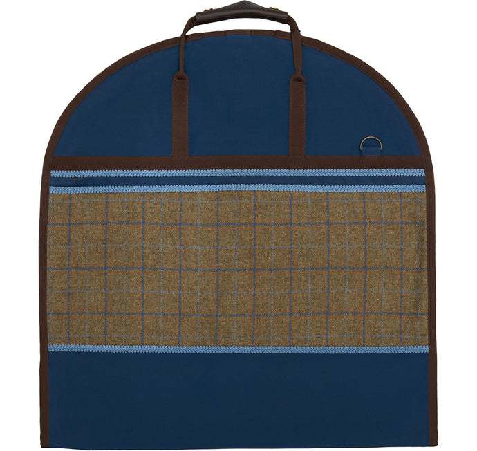 Kleidersack BLUE TWEED