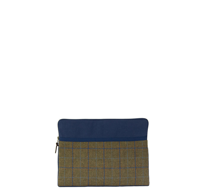 Laptoptasche BLUE TWEED