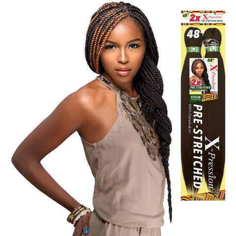 Sensationnel African Collection X-Pression Pre-Stretched Kanekalon 2X