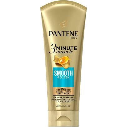 Pantene Gold Series 3 Minute Miracle Smooth & Sleek