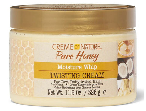 Creme of Nature Pure Honey Moisture Whip Twisting Cream
