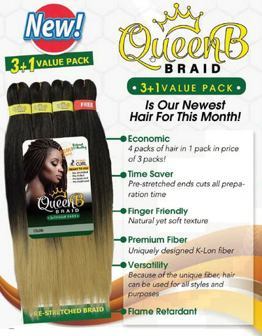 Queen B Braid Multipack
