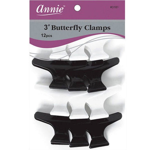 Annie Butterfly Clips 3""